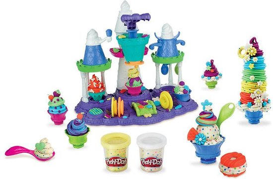 Play-doh ijskasteel