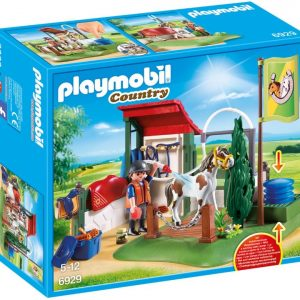 Playmobile Paardenwasstraat