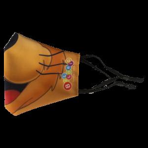Chat masker zijkant